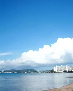 沖縄のキレイな海:海の日